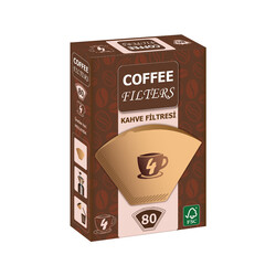 Coffee - Coffee Kahve Makinesı Filtresi 1x4 80li
