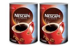 Nescafe - 2 Adet Nescafe Classic Teneke 1kg