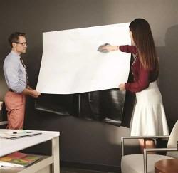 3M DEF32 Silinebilir Beyaz Tahta 91.44cmx61cm - Thumbnail