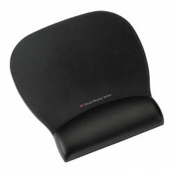 3M - 3M Jel Bilek Destekli Siyah Deri Mouse Ped