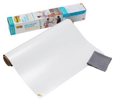 3M Post-it DEF4x3 Silinebilir Beyaz Tahta 91x122cm