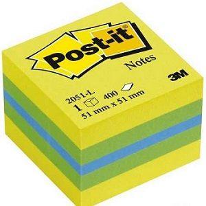 3M Post-it Mini Küp Sarı Tonları 400yp 52x52mm