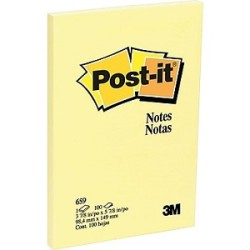 3M - 3M Post-it Sarı 102x152mm 100yp