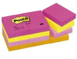 3M - 3M Post-it Tutti-Frutti Serisi Pembe 38X51mm
