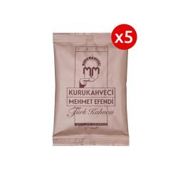 Mehmet Efendi - 5 Adet Mehmet Efendi Türk Kahvesi 100gr