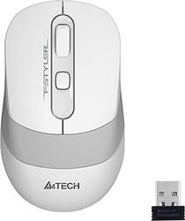 A4 Tech - A4 Tech FG10 Nano Kablosuz Optik 2000DPI Mouse Beyaz