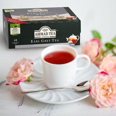 Ahmad Tea Earl Grey Demlik Poşet Çay 48li