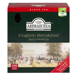 Ahmad Tea - Ahmad Tea London English Breakfast Bardak Poşet Çay 100lü