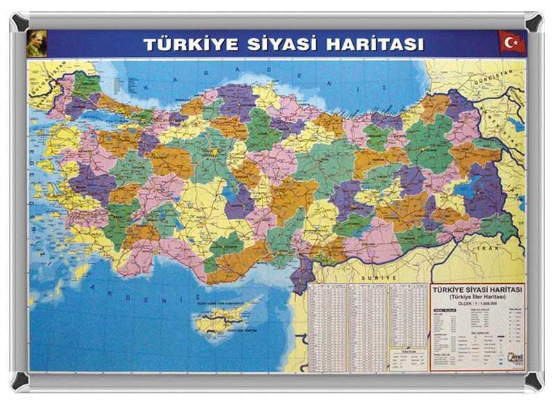 Akyazı Dünya Siyasi Haritası 70x100
