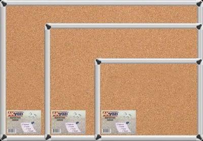 Akyazı Duvara Monte Mantar Pano 120X120