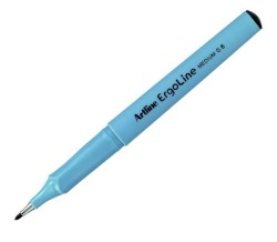 Artline - Artline Ergoline İmza Kalemi 0.6mm Siyah