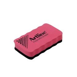 Artline - Artline Manyetik Yazı Tahtası Silgisi Kırmızı