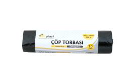 Atiplast - Atiplast Çöp Torbası Endüstriyel Hantal 100x150 Siyah 1000gr 10lu