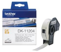 BROTHER - Brother P-Touch Çok Amaçlı Etiket 17mmx54mm DK11204