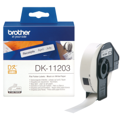 Brother - Brother P-Touch Dosyalama Etiketi 17mmx87mm DK11203