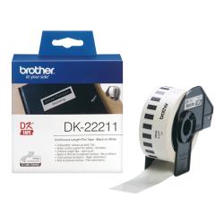 BROTHER - Brother P-Touch Sürekli Film Etiket 29mmx15.24m DK22211