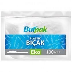 Bursapazarı - Burpak Plastik Bıçak Şeffaf 100lü
