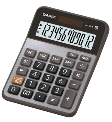 Casio Hesap Makinesi 12 Hane MX-120B