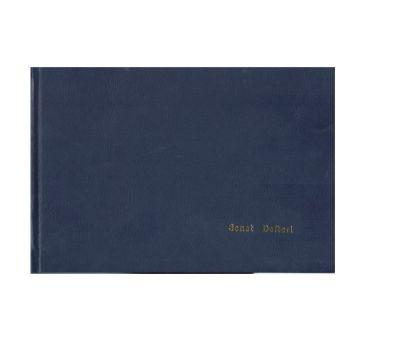 Dilman Senet Kayıt Defteri 17x24 192yp