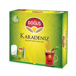 Doğuş - Doğuş Karadeniz Bardak Poşet Çay Bergamot Aromalı 100 adet