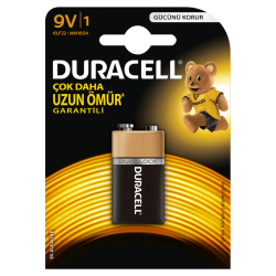 Duracell - Duracell Alkalin 9 Volt