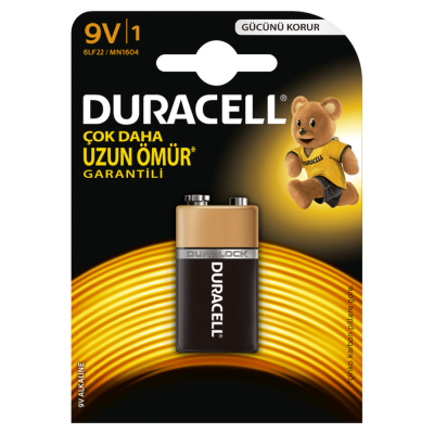 Duracell Alkalin 9 Volt
