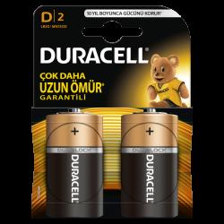 Duracell - Duracell Alkalin D Büyük Boy Pil 2li