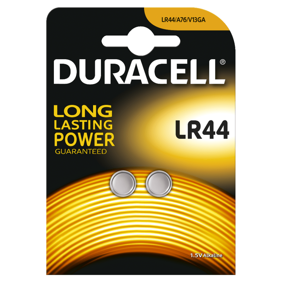 Duracell LR44 Pil 1.5Volt