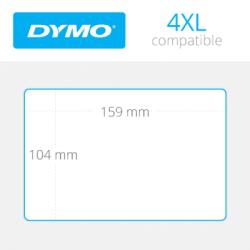 Dymo 4XL Ekstra Geniş Sevkiyat Etiketi 104x159mm - Thumbnail