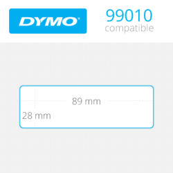 Dymo Adres Etiketi 260 Etiket 89x28mm 99010 - Thumbnail