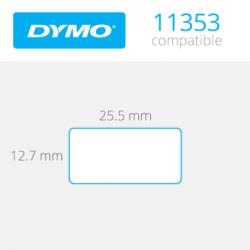 Dymo Çok Amaçlı Etiket 1000 Etiket 24x12mm 11353 - Thumbnail