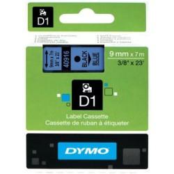 Dymo - Dymo D1 Yedek Şerit 9mmx7m Mavi/Siyah 40916
