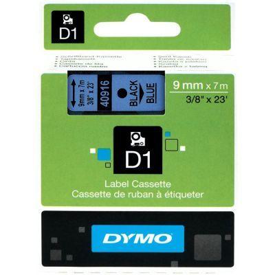 Dymo D1 Yedek Şerit 9mmx7m Mavi/Siyah 40916