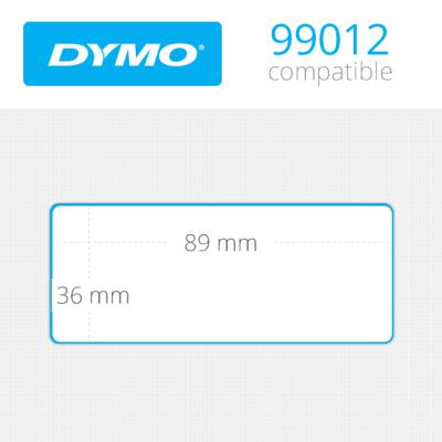 Dymo Geniş Adres Etiketi 520 Etiket 89x36mm 99012