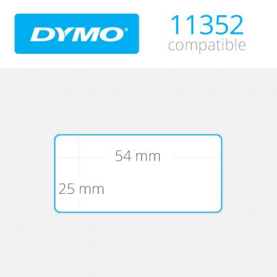 Dymo İade Adres Etiketi 500 Etiket 25x54mm 11352