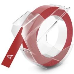 DYMO - Dymo Kabartma Şerit Kırmızı 9mm