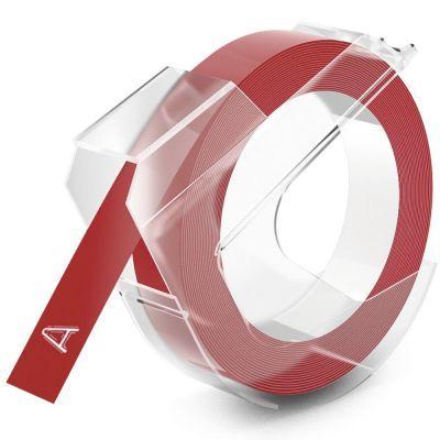 Dymo Kabartma Şerit Kırmızı 9mm
