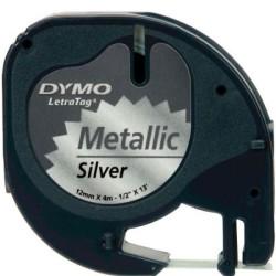 Dymo LetraTag Metalik Şerit 12mmx4m - Thumbnail