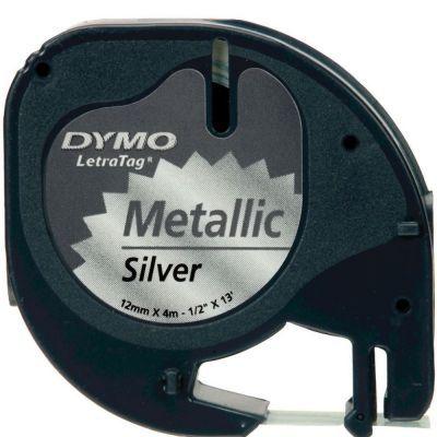 Dymo LetraTag Metalik Şerit 12mmx4m