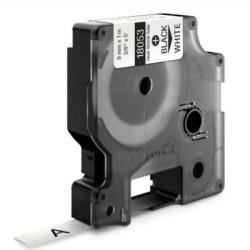 Dymo RhinoPro Isıyla Küçülen Şerit 9mmx1.5m Beyaz/Siyah 18053 - Thumbnail