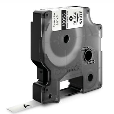 Dymo RhinoPro Isıyla Küçülen Şerit 9mmx1.5m Beyaz/Siyah 18053