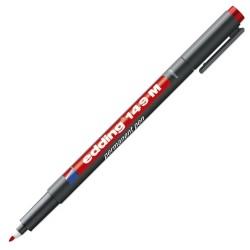 EDDİNG - Edding Asetat Kalemi Kırmızı 149M