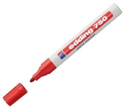 Edding - Edding Hobi Sanat Kalemi Kırmızı 750