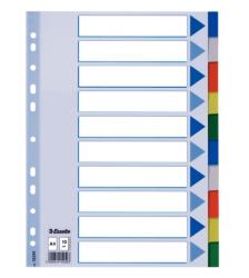 ESSELTE - Esselte A4 Seperatör 10 Renk