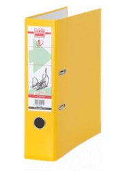 Manu - Manu Plastik Klasör Geniş Sarı