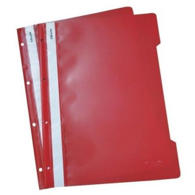Esselte Telli Dosya Kırmızı 50li