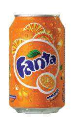 Fanta - Fanta Portakal Aromalı 330 ml 24'lü