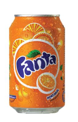 Fanta Portakal Aromalı 330 ml 24'lü