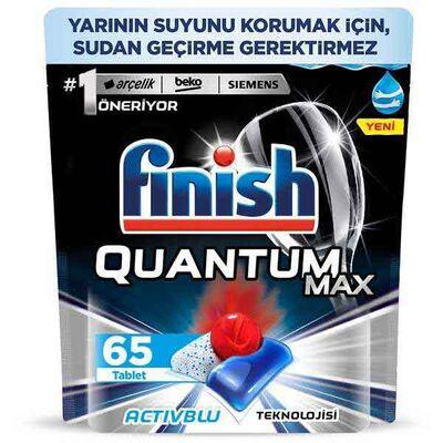 Finish Quantum Max Bulaşık Makinesi Deterjanı 65 Kapsül