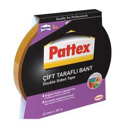 Pattex - Henkel Pattex Çift Taraflı Bant 12mmx25m